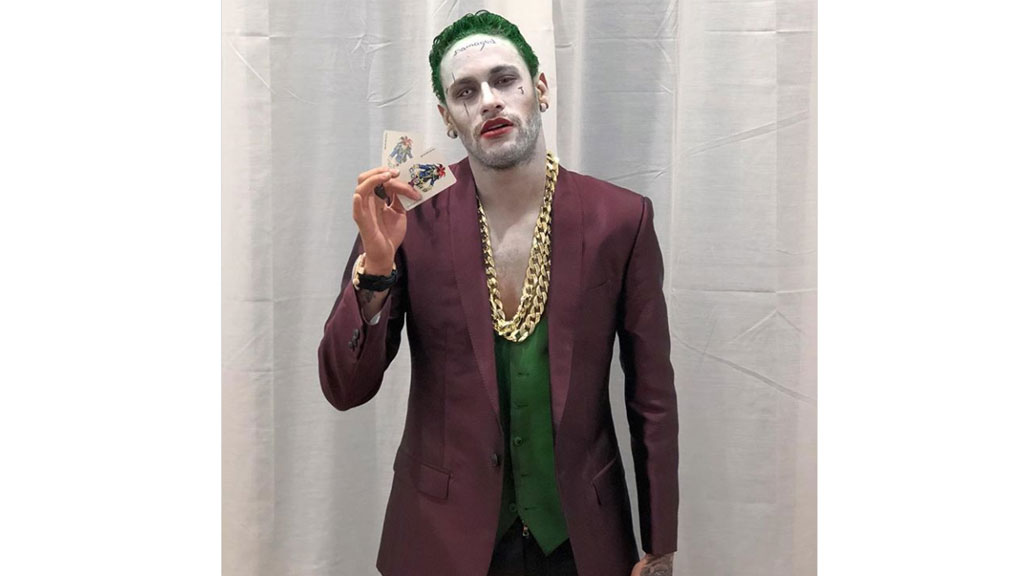 Suicide Squad Joker Halloween Costume.Newsnumber A New Era Of Social Journalism Neymar Dresses As